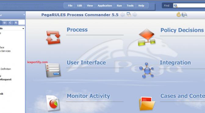 Pega PRPC – screenshot